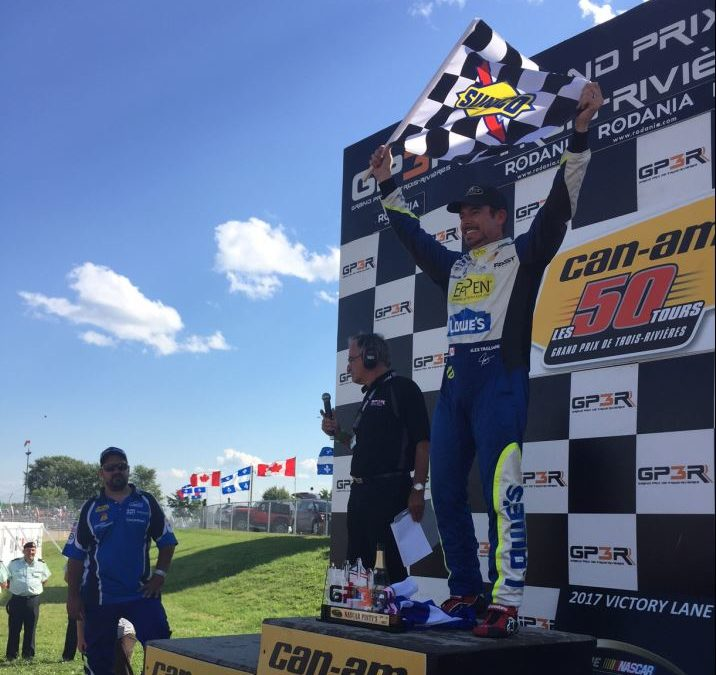 Tagliani And Camirand On Podium at GP3R