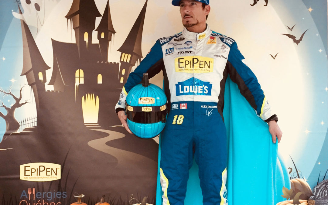 Meet NASCAR Driver Alex Tagliani in Bois-des-Filion on Halloween Night